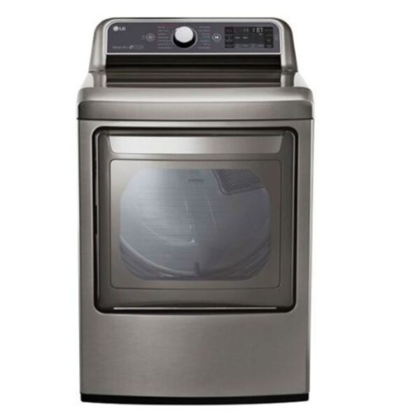 LG 7.3 cu. ft. Ultra Large Capacity TurboSteam™ Electric Dryer with EasyLoad™ Door (DLEX7600VE)