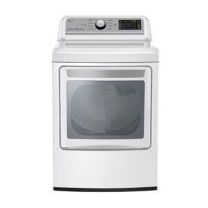 LG 7.3 cu.ft Electric Dryer with TurboSteam® (DLEX7200W)