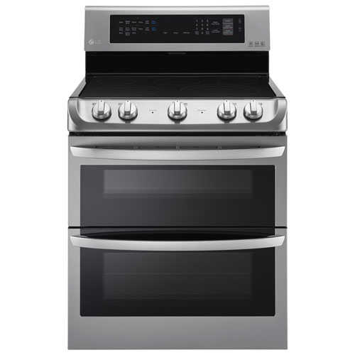 Lg 7 3 Cu Ft Electric Double Oven Range With Probake
